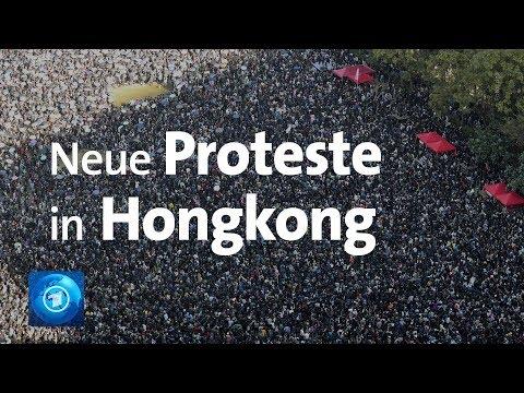 Hunderttausende protestieren in