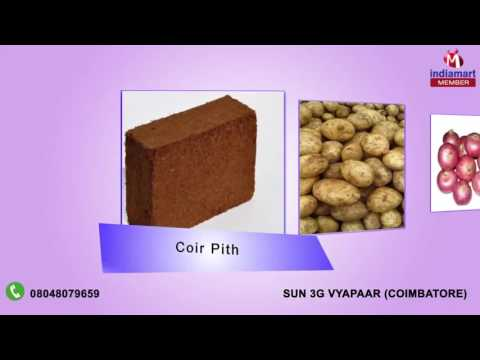 Coir Pith and Fresh Vegetable By Sun 3g Vyapaar, Coimbatore