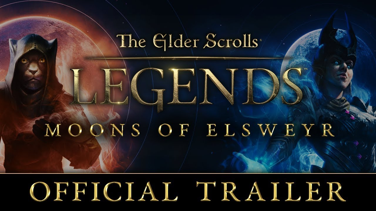 Image result for The Elder Scrolls: Legends' Moons of Elsweyr expansion launches June 27 on PC, iOS, and Android