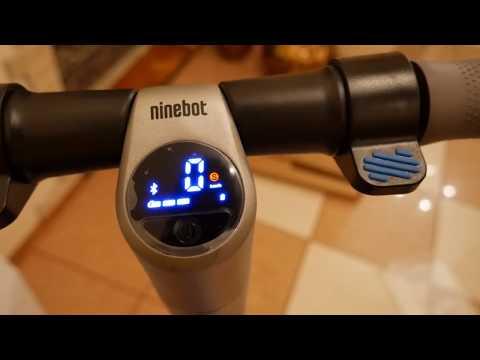 Электросамокат Segway Ninebot KickScooter ES2 (распаковка и сборка)