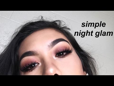 simple spring / night makeup tutorial ft. modern renaissance palette ♡ marina hokulani