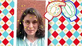 Детская писательница Юлия Кузнецова поздравляет нашу библиотеку с юбилеем!