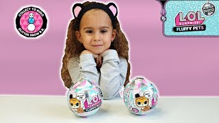 LOL Surprise Winter Disco FLUFFY PETS Unboxing & weight