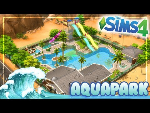 MR.OLKAN'S WATER PARK || The Sims 4 Speed Community Lot Buil