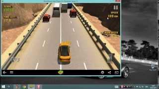 Traffic racer on Windows 8.1