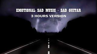 Ru Frequence - Emotional Sad Guitar Music [3 HOURS VERSION] (No Ads)