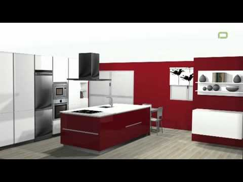 Biotti cocinas ba os y reformas madrid youtube for Showroom banos y cocinas