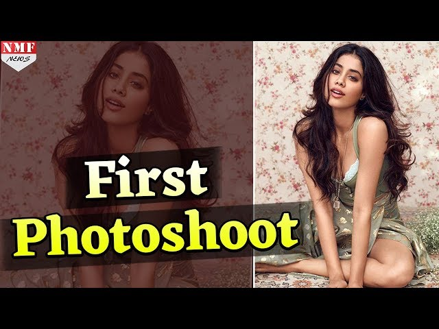 Jhanvi Kapoor ?? ???? Photoshoot, Cover Page ?? ??? ??????? ???