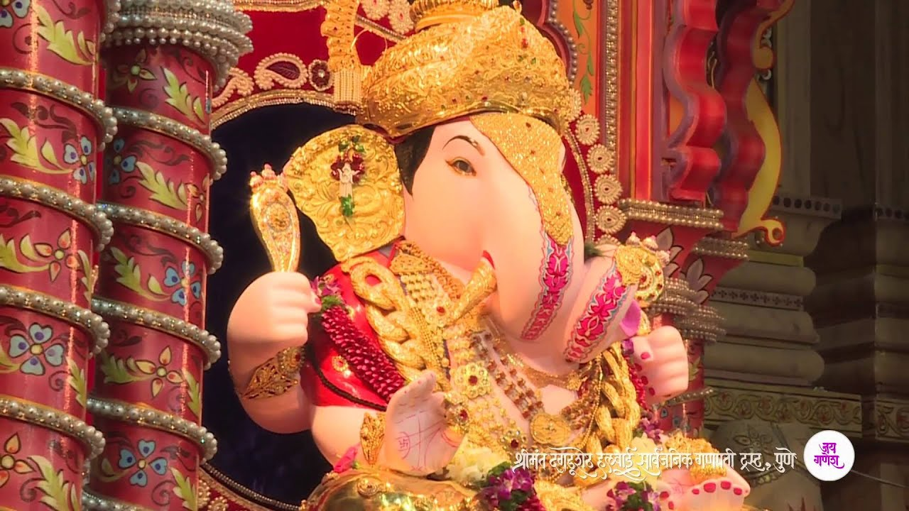 Official video of ganesh pujan 2015 at dagdusheth ganpati temple official video of ganesh pujan 2015 at dagdusheth ganpati temple pune youtube thecheapjerseys Image collections