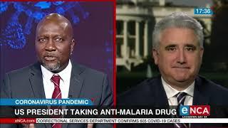 Trump taking anti-malaria medication