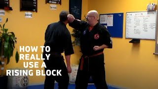 Penacook School Martial Arts/Rising Block