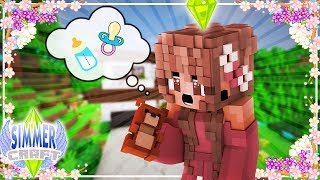 ♢ Minecraft: SimmerCraft // A NEW DAYCARE FOR A NEW BABY {Modded Minecraft} ♢