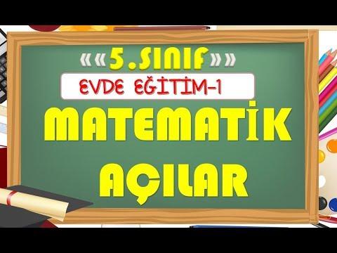 5.Sınıf Matematik Açılar- Yardımcı Öğretmen