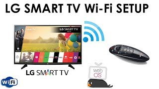 How To Connect LG Smart TV With WiFi Internet