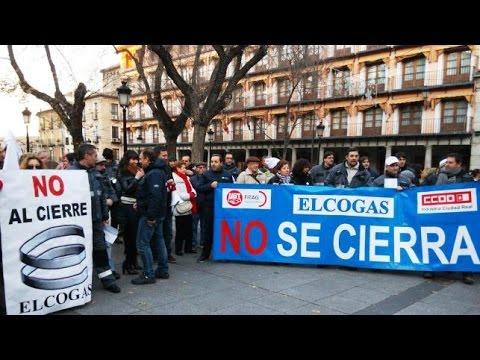 Trabajadores Elcogas en Toledo