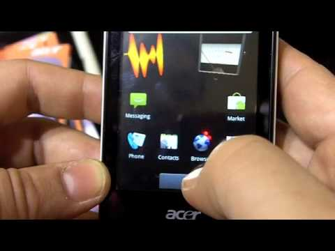 Acer BeTouch E400 con Android 2.1