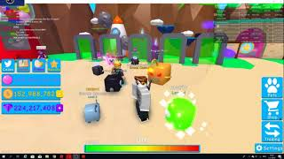 playing roblox giveaway bubble gum simulator