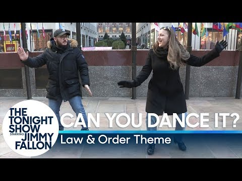 Can You Dance It?: Law & Order Theme