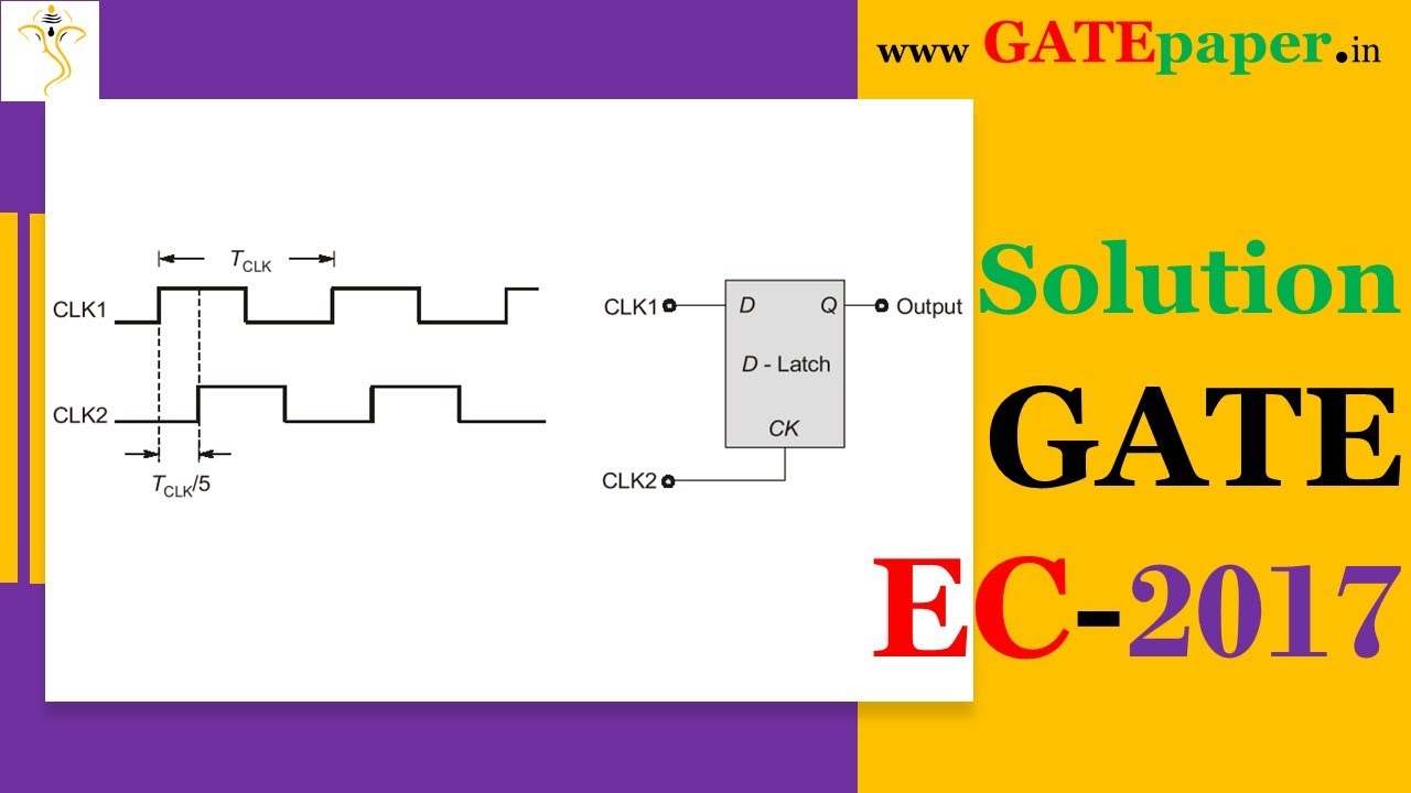 Gate 2017 find the duty cycle at the output of d latch youtube gate 2017 find the duty cycle at the output of d latch pooptronica Gallery