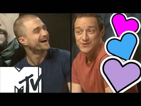 Lets Go Speed Dating With Daniel Radcliffe and James McAvoy! | MTV Movies