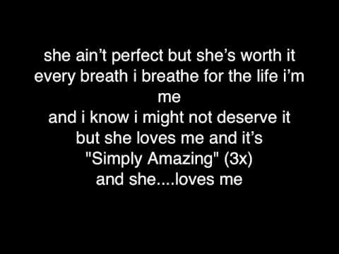 Trey Songz- Simply Amazing (Lyrics) ♥