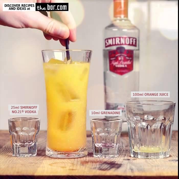 Screwdriver Cocktail Recipe - How to Make a Jamaica ...