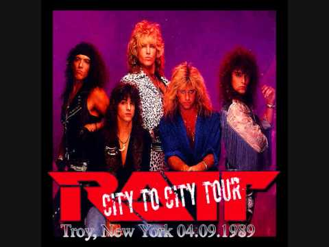 Ratt - Back For More live in Troy, New York 04/09/1989