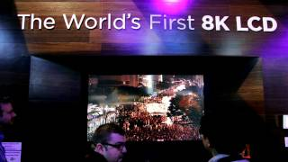Sharp Intros World's First 8K TV at CES 2012