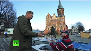 The Peter Schmeichel Show: Legendary goalkeeper explores World Cup host cities (Kaliningrad)