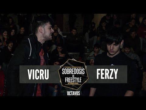VICRU Vs FERZY - 8avos #SOBREDOSISDEFREESTYLE
