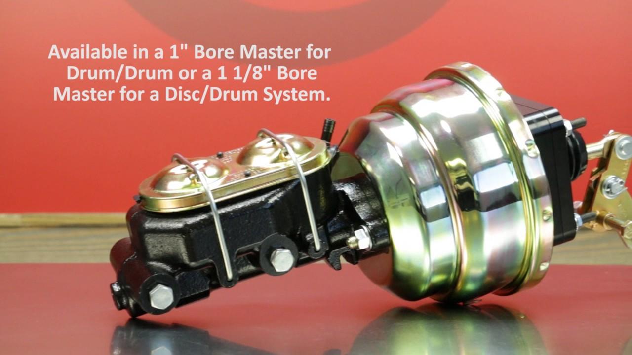 1965 - 1974 MOPAR B & E Body Booster Master Video by Master Power Brakes