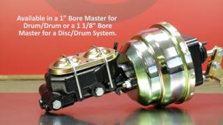 1965 - 1974 MOPAR B & E Body Booster Master Video by Master Power Brakes