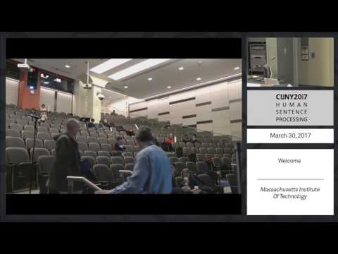CUNY 2017 Livestream: Thursday afternoon