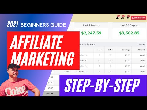Affiliate Marketing Guide For Beginners 2021.  How To Make Money Online [Step-by-Step]