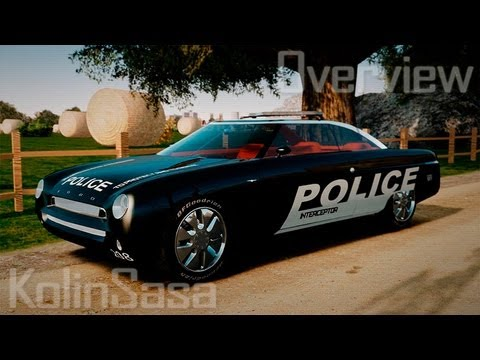 Ford Forty Nine Concept 2001 Police [ELS]