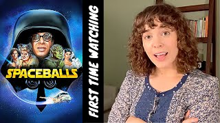 Reacting to Spaceballs! (FIRST TIME WATCHING!!)