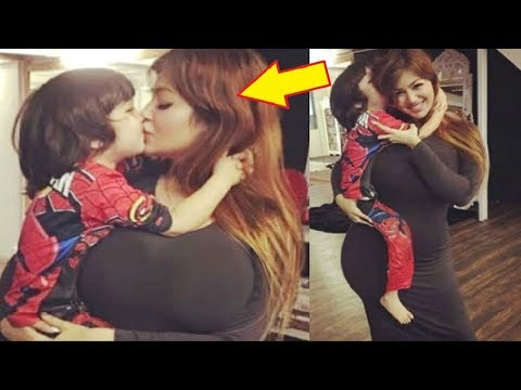 Ayesha Takia TROLLED For Kissing Her Son...