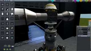 Kerbal Space Program - Artificial Gravity System Design