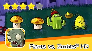 Plants vs  Zombies™ HD Adventure 2 Night 04 Part 01 Walkthrough The zombies are coming! Recommend in