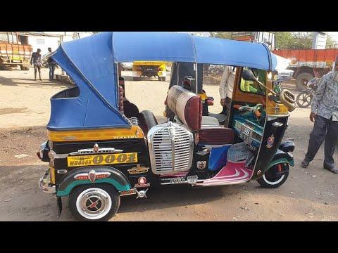 Auto rikshaw modifided
