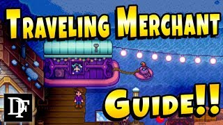 Travelling Cart Explained - Stardew Valley 1.3