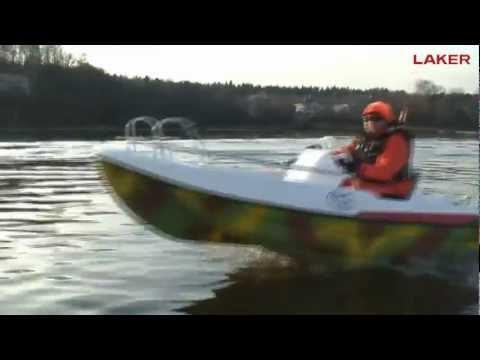 Стеклопластиковая лодка LAKER 410 в новой комплектации