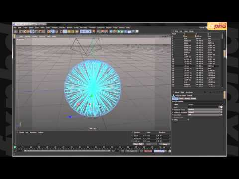 C4D214: Math by Arrows - Procedural Organic Growth in Cinema 4D Class 1