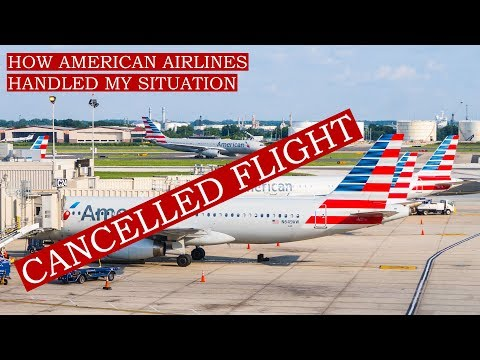 BRUTALLY HONEST review of how AMERICAN AIRLINES handled my cancelled flight
