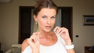 Нежная укладка для коротких волос пошагово/Прически/Short Hair Style (KatyaWORLD)(Понадобится пара