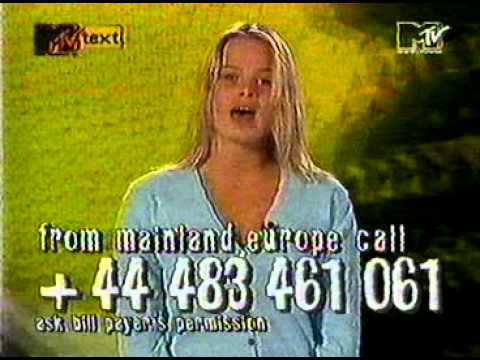 MTV Europe - Dial MTV hosted by Rebecca de Ruvo (April 29, 1993)