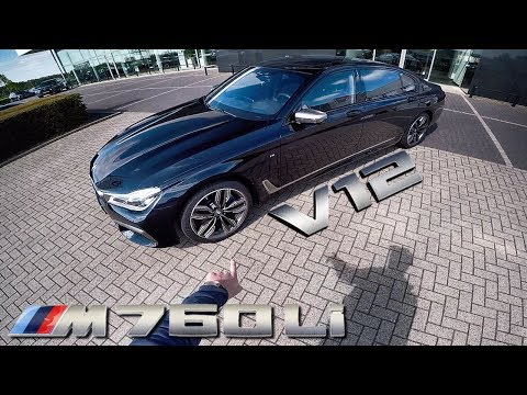 BMW M760Li REVIEW POV Test Drive by AutoTopNL