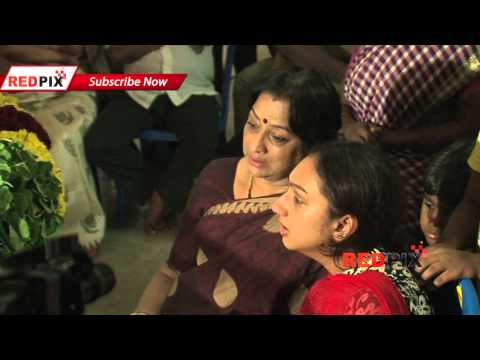 Actress Meena and Lakshmi pay Homage - Veteran actress Manjula Vijayakumar died today.[RED PIX]