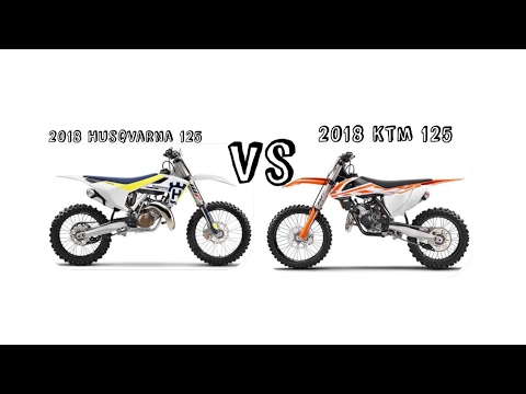 2018 ktm 125. delighful 125 2018 ktm 125 vs husqvarna with ktm s