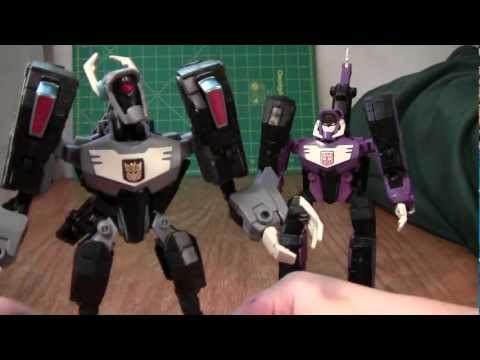 Transformers Animated Shockwave Review (Longarm Prime Voyager Toy)